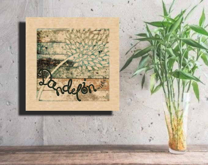 Dandelion Wishes ~ Digital Download