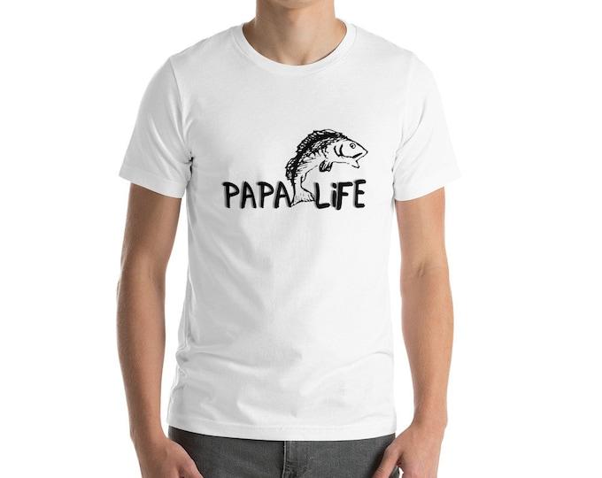 papa Life Short-Sleeve Unisex T-Shirt