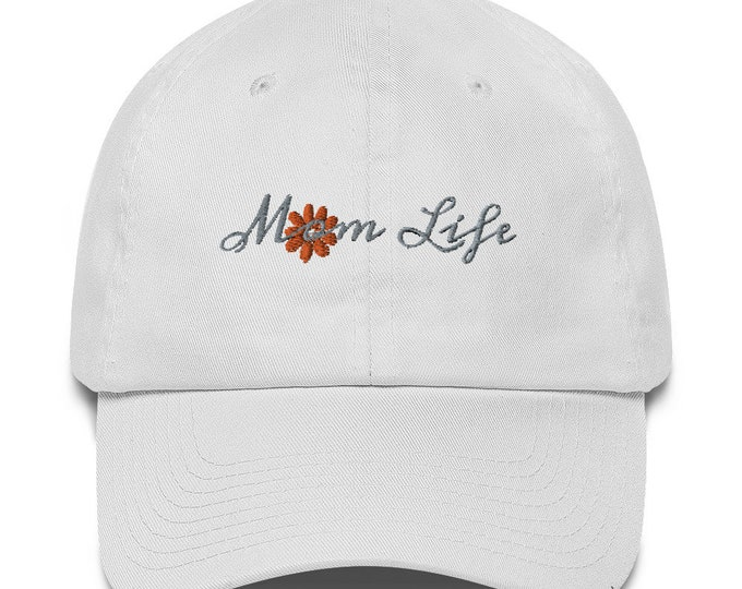Mom Life Cotton Cap