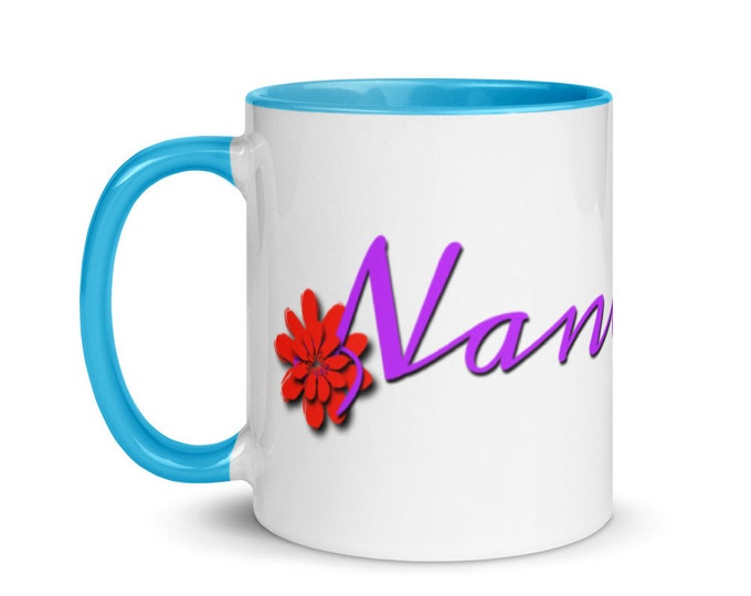 Nana Life Mug with Color Inside