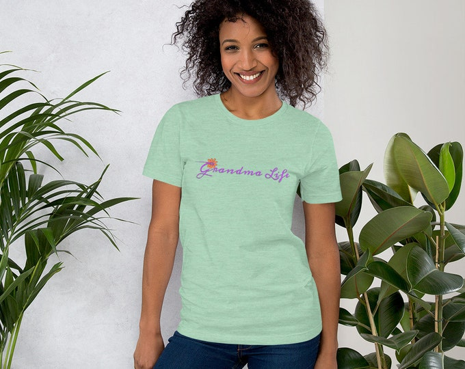 GRANDMA LIFE Short-Sleeve Unisex T-Shirt