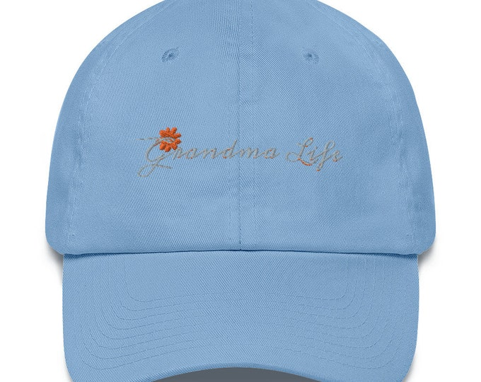 Grandma Life Cotton Cap