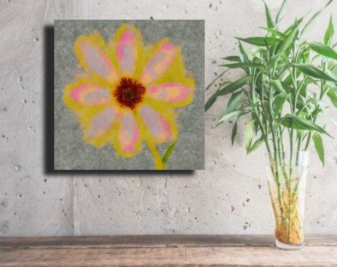 "Flower of Many Colors ""ABSTRACT"" ~ Digital Download"