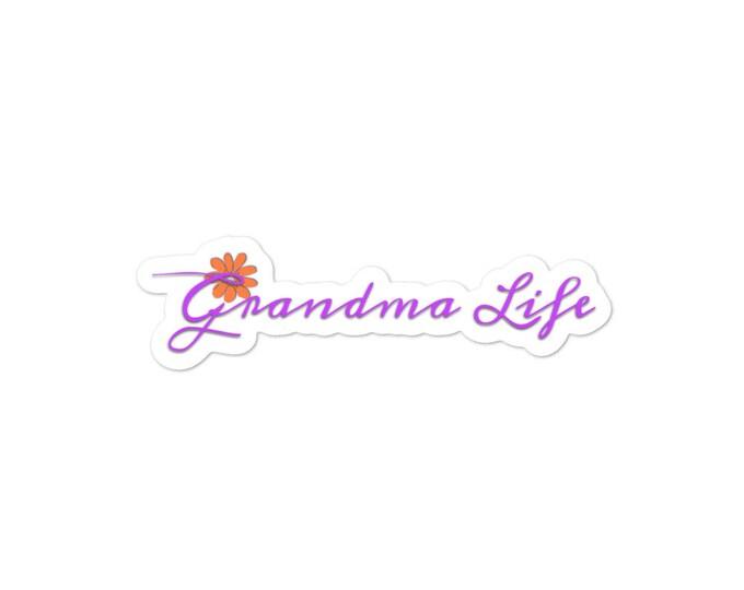 Grandma Life~Bubble-free stickers
