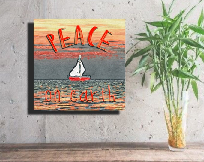 Sailing for Peace on Earth ~ Digital Download