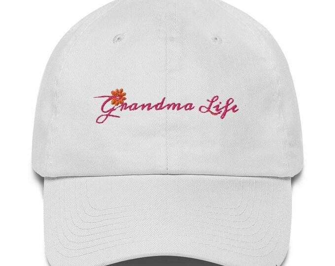 Grandma Life Cotton Cap