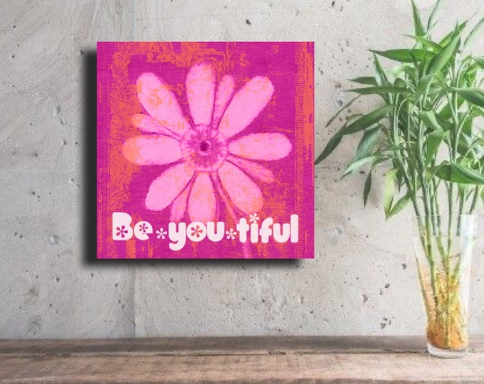 Be~you~tiful across the Bottom ~ Digital Download