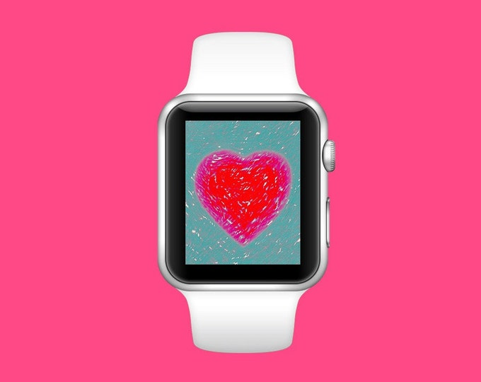 Apple Watchface.~ Heart Throb ~ Digital Download