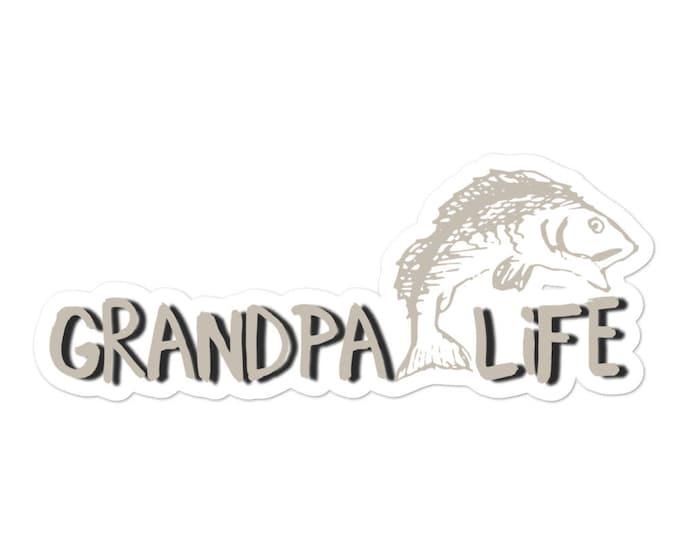 Bubble-free stickers Grandpa Life