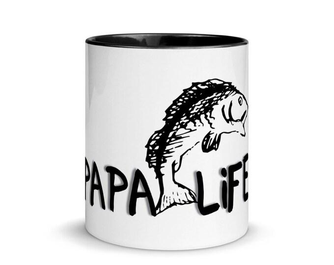 PaPa Life Mug with Color Inside