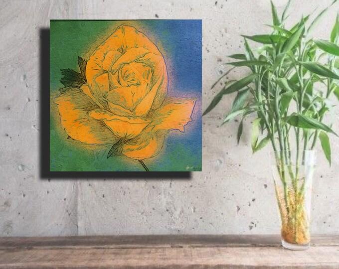 Yellow Rose ~ Digital Download