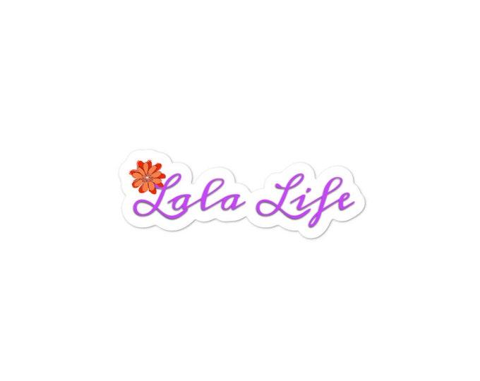 Lala Life~Bubble-free stickers