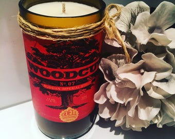 Odell Woodcut Russian Imperial Stout Candles