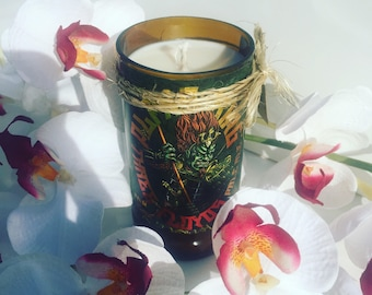 Three Floyds Alpha King  beer Candle