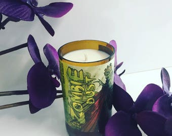 Three Floyds Zombie Dust beer Candle