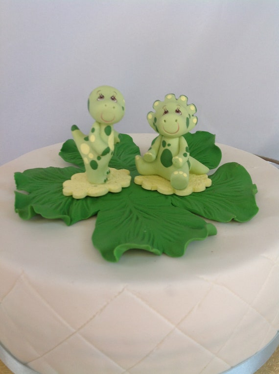 T Rex Cake Topper Dinousar Cake Topper Dinosaur Birthday Cake Etsy