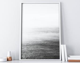 Ocean Minimalist Wall Art Digital Print