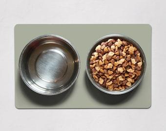 Fresh Sage Dog Food Mat, Solid Mint Green Cat Food Mat, Boho Dog Placemat, Cat Placemat, Modern Dog Mat, Cat Mat, Cat Gifts, Dog Gifts