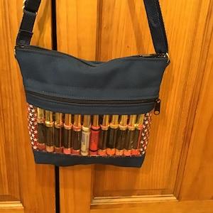 MarketingPresentation Bag Zip Display Pockets Youn Living Jewelry Crossbody Shoulder Bag Essential Oils LipSense LilyB Display Bag