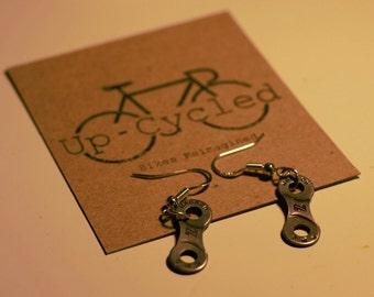 Chainlink earrings