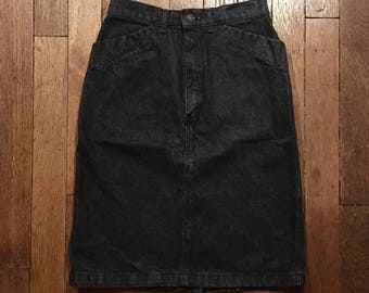 Vintage Gap denim skirt
