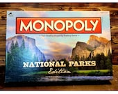 USAOPOLY National Parks Edition Monopoly, no game tokens