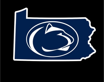 Penn State Decal | Nittany Lions Decal | Penn State Sticker | Nittany Lions Sticker | Go Penn State