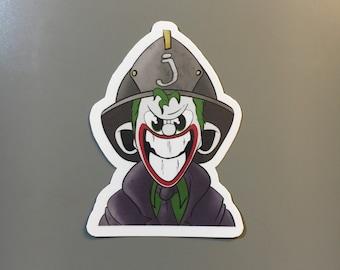 Firefighter Joker Sticker