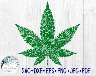 84e2526db19 SVG de feuille de marijuana
