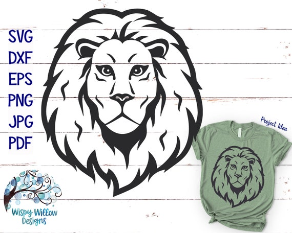 Lion Svg Dxf Png Jpg Lion Face Svg Lion Drawing Svg Lion Etsy Anyone can make after downloading and printing, one must carefully cut out the outline of the lion template to use it. lion svg dxf png jpg lion face svg lion drawing svg lion outline cricut cut file lion shirt design lion png vinyl decal file