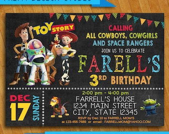 Toy story invitation etsy toy story invitation toy story invites toy story birthday invitation toy story card toy story party printables stopboris Images
