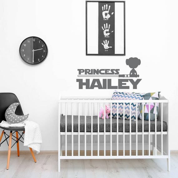 Once Upon a Time Princess Leah Wall Sticker Decal Bed Room Art Girl//Baby