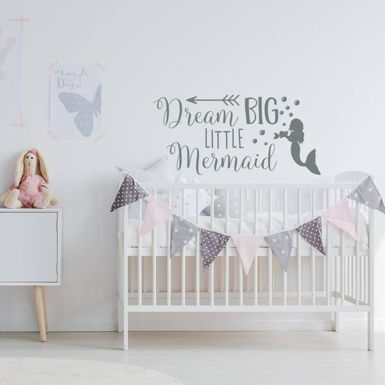 THE PRINCESS SLEEPS HERE wall stickers 131 decal MURAL crown