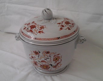 Vintage Wedgwood ice bucket in Kashmar pattern