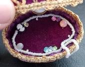 1960s Egg Art Hand Made Egg Jewelry Box Ornament