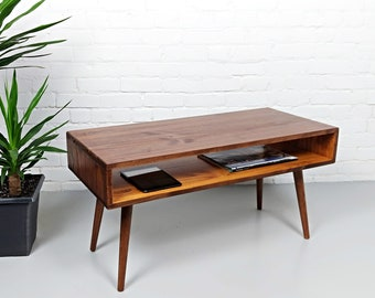 Mid Century Modern   Retro Chestnut Orange, Mid Century Coffee Table, Mid  Century Modern Coffee Table