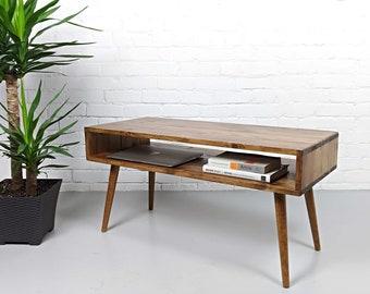 Mid Century Coffee Table Etsy