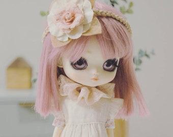 Schöne rosa flauschige Shorts für 12 Blythe Momoko Pullip Licca Dolls Puppen
