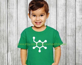 Glucose Molecule T Shirt for Children and Adults - Science - Sugar - Hypoglycemia - Hyperinsulinism - Diabetic - Diabetes - Insulin