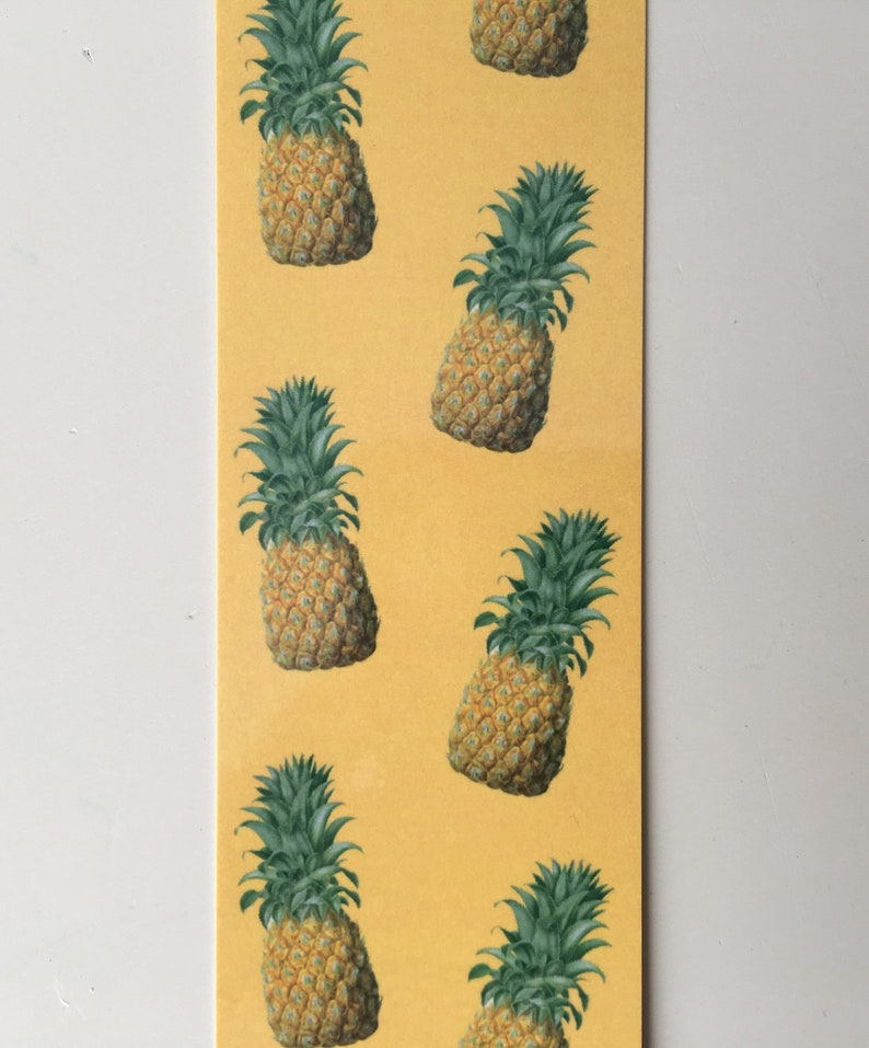 Pineapple Bookmark Fruit Bookmark Book Clip Book Tag image 0
