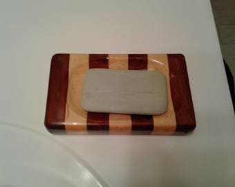 Wood Soap Dish, Rustic Bathroom Acessories, Cabin Furniture, Bathroom Art,
