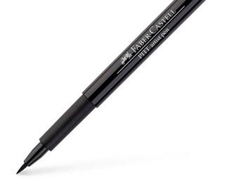 India ink PITT artist Brush Pen - black - Faber Castell