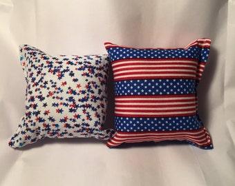 2 Handmade catnip pillows