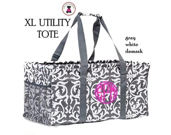 Garden Vine All Purpose Large Utility Bag with free monogram