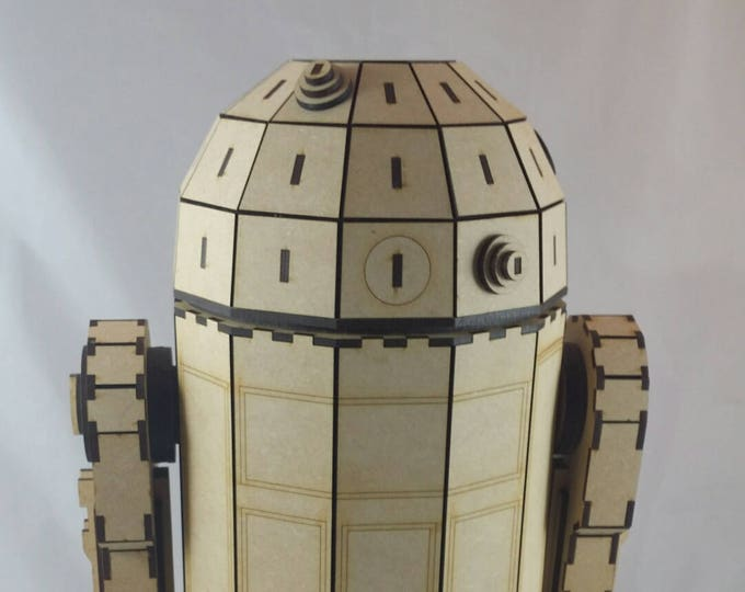 R2D2 (StarWars Inspired) 3D Puzzle/Model