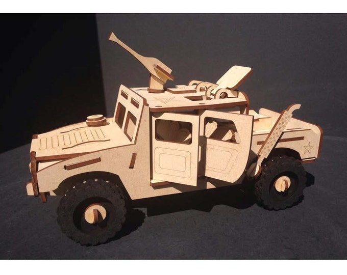 Military Hummer 3D Puzzle/Model