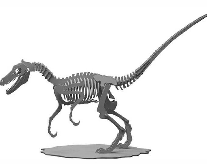 Velociraptor 3D Puzzle/Model