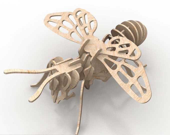 Bee 3D Puzzle/Model