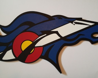 CO Flag Bronco