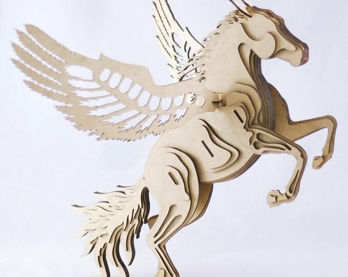 Pegasus 3D Puzzle/Model